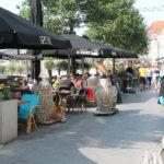 bellamypark tijdens de stadswandeling kunt u hier heerlijk lunche of wat drinken